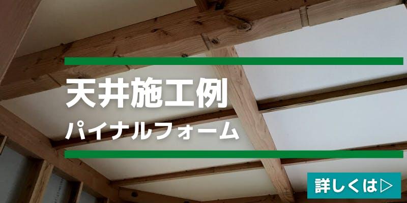 パイナルフォーム天井施工例