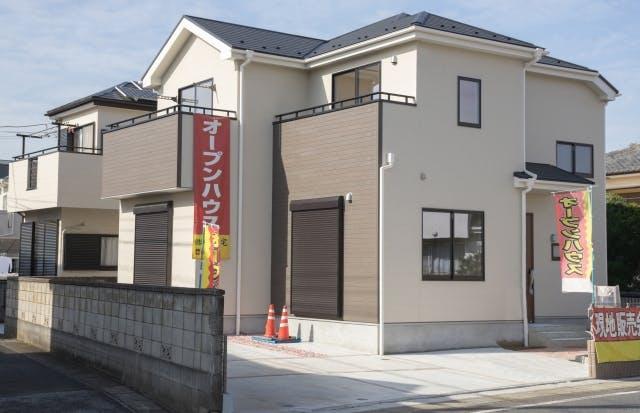 住宅展示場_モデルハウス